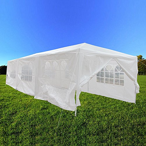 10×30-White-Outdoor-Gazebo-Canopy-Party-Wedding-Tent-8-Sidewalls-Removable-Walls-0-2