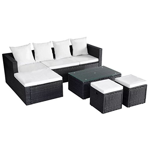 12-Pieces-Garden-Lounge-Set-Black-Poly-Rattan-Sectional-Sofa-Made-of-Weather-resistant-and-Waterproof-PE-Rattan-Garden-Corner-Sofa-0-2