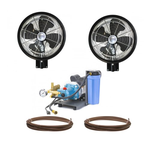 2-HIGH-PRESSURE-18-Oscillating-Misting-Fan-Wall-Mount-Mist-Kit-0