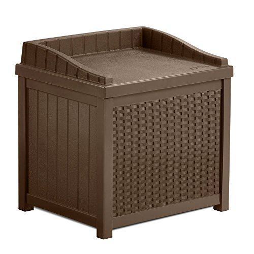 22-Gallon-Storage-Bench-Seat-Garden-Outdoor-Box-W-Resin-Decorative-Woven-Effect-in-Mocha-Brown-Color-0