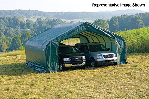22x28x13-Peak-Style-Shelter-Green-Cover-0-0