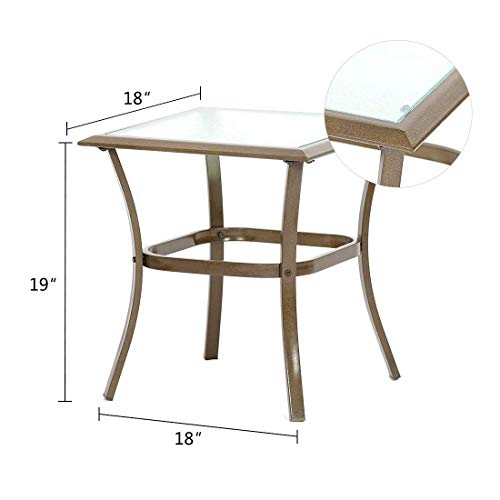 3-Piece-Patio-Outdoor-Bistro-Set-Furniture-Two-Cushioned-Chairs-Glass-Coffee-Table-0-2