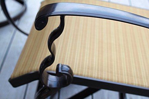 3pc-Cast-Aluminum-Swivel-Rocking-Patio-Bistro-Furniture-Set-Bronze-0-0