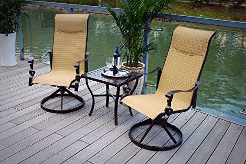 3pc-Cast-Aluminum-Swivel-Rocking-Patio-Bistro-Furniture-Set-Bronze-0