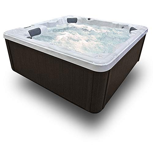5-Seat-27-Stainless-Jets-Waterfall-Ozone-LED-Lights-Cover-Willow-Brown-Cabinet-0-1
