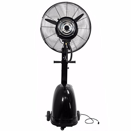 9TRADING-Commercial-26-High-Velocity-Outdoor-indoor-Mist-Fan-Black-Industrial-Cool-Free-Tax-Delivered-within-10-days-0-0