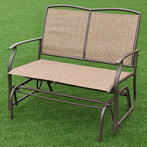 AK-Energy-2-Person-Outdoor-Patio-Swing-Glider-Loveseat-Bench-Rocking-Chair-Furniture-396Lbs-Capacity-0-0