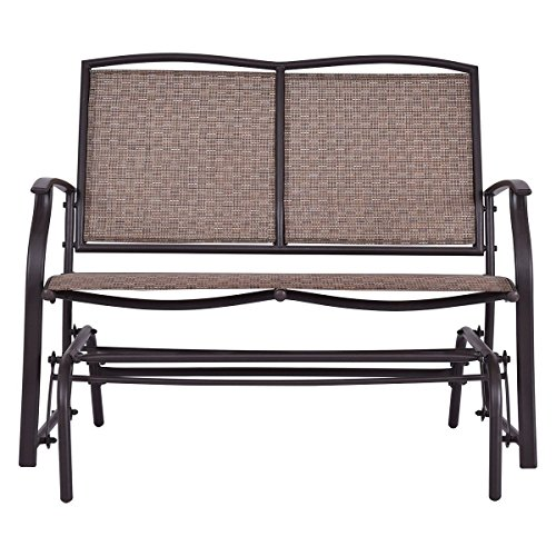 AK-Energy-2-Person-Outdoor-Patio-Swing-Glider-Loveseat-Bench-Rocking-Chair-Furniture-396Lbs-Capacity-0