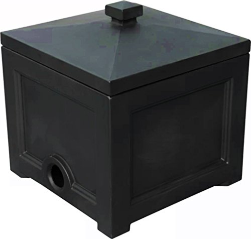 ATS-Hose-Hideaway-Box-Garden-Water-Storage-Holder-Black-Outdoor-in-Deck-for-Yard-Patio-Small-Gardening-with-Lid-Ebook-by-AllTim3Shopping-0
