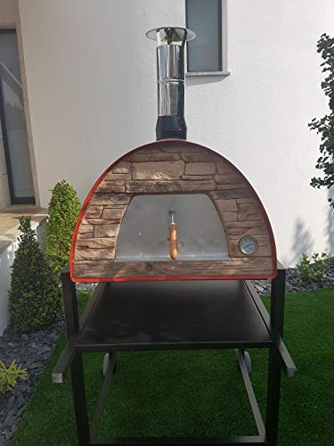 Authentic-Pizza-Ovens-Maximus-Red-Handmade-Wood-Fire-Oven-0-2