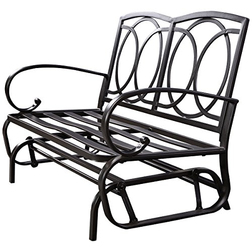 BESTChoiceForYou-Outdoor-Patio-Cushioned-Rocking-Bench-Loveseat-Outdoor-Wicker-Furniture-Set-Seat-2-Cushion-Inspire-0
