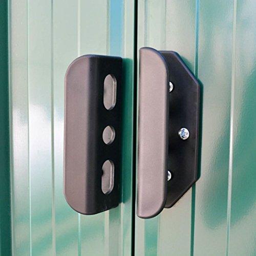 BLXCOMUS-Outdoor-Green-Garden-Storage-Shed-Metal-Garage-Storage-Organizer-Large-House-With-4-VentsDouble-Silding-DoorsSize1012x807x701-0-0