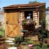 Bayside-12-x-4-Lean-To-Cedarshed-0-0