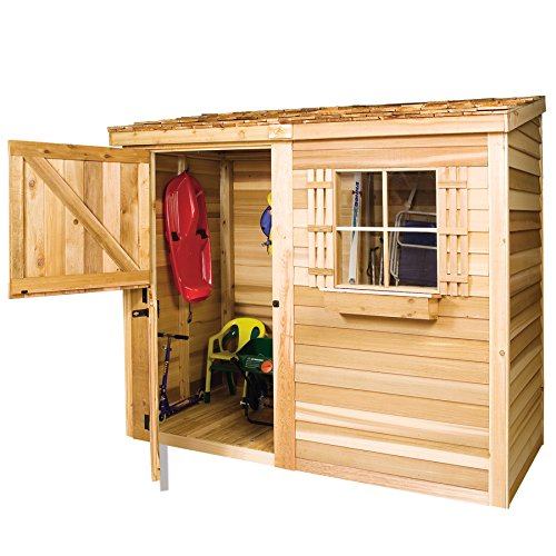 Bayside-12-x-4-Lean-To-Cedarshed-0