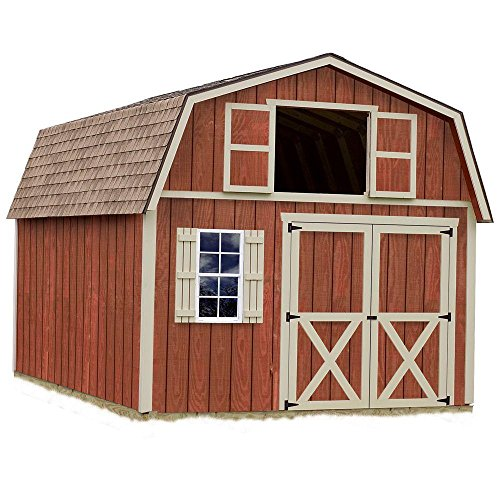 Best-Barns-Millcreek-12-X-16-Wood-Shed-Kit-0