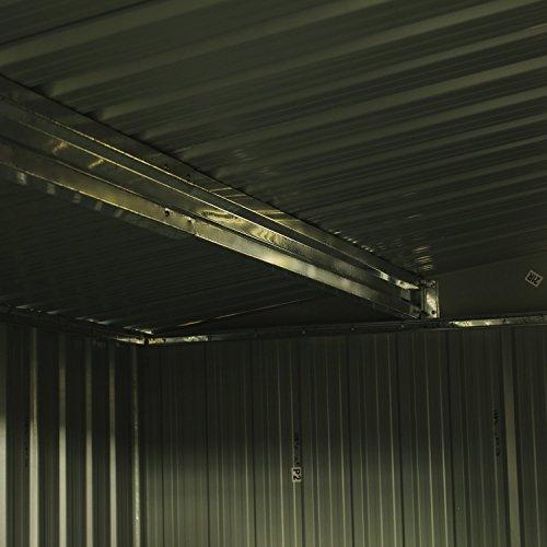 Bestmart-INC-New-8×8-Outdoor-Steel-Garden-Storage-Utility-Tool-Shed-Backyard-Lawn-Building-Garage-with-Sliding-Door-0-2