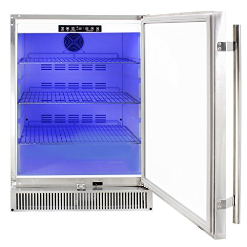 Blaze-BLZ-SSRF-50DH-Outdoor-Rated-Stainless-Steel-Refrigerator-52-Cu-Ft-24-inches-0-0