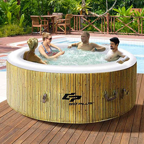 CHOOSEandBUY-4-Persons-Portable-Heated-Bubble-Massage-Spa-Beige-0-1
