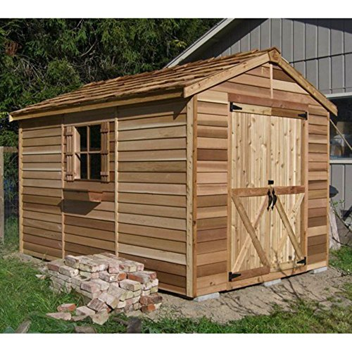 Cedar-Shed-6-x-9-ft-Rancher-Storage-Shed-0