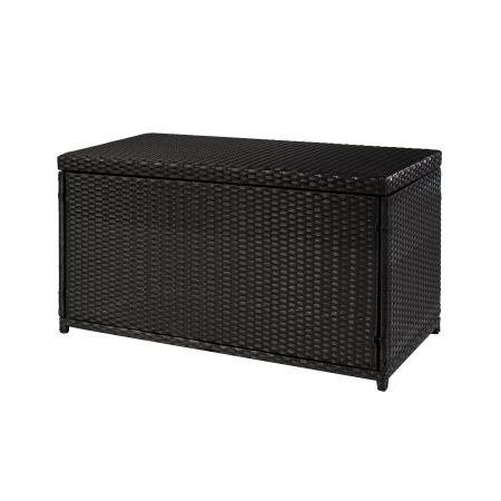 Deck-Box-Patio-StorageWickerSun-Resistant-Black-0