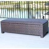 Deck-BoxStorage-Ottoman-Bench-Wicker-51-in-30-GalBrown-0