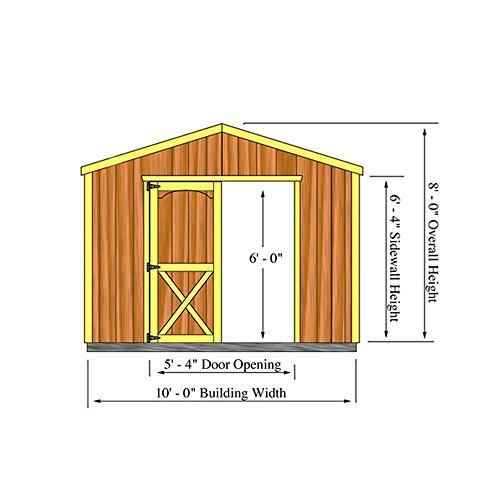 Elm-10-ft-x-16-ft-Wood-Storage-Shed-Kit-0-0