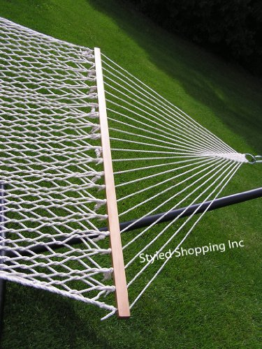 Extra-Large-Deluxe-2-Person-White-Rope-Hammock-Extra-Soft-Poly-Rope-0-1