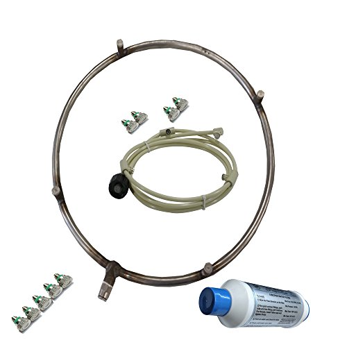 Fan-Mister-Stainless-Steel-Misting-Ring-with-Calcium-Inhibitor-Filter-Includes-Misting-Nozzles-Push-Lock-Connection-Do-It-Yourself-0