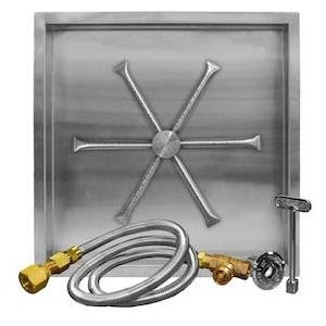Firegear-32-inch-Square-Burning-Spur-Natural-Gas-Fire-Pit-Burner-Kit-Match-Light-Ignition-0