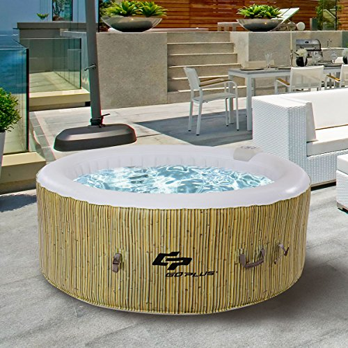 Goplus-4-Person-Inflatable-Hot-Tub-Outdoor-Jets-Portable-Heated-Bubble-Massage-Spa-Set-wFilter-Repair-Kit-Beige-0-1