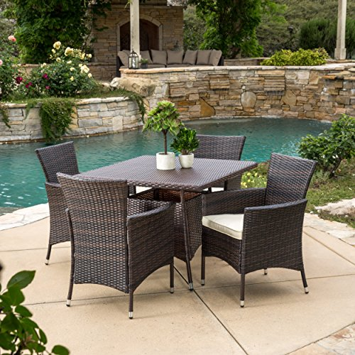 Great-Deal-Furniture-Clementine-Outdoor-5pc-Multibrown-Wicker-Square-Dining-Set-0