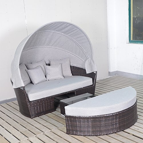 Harmony-Life-Wicker-Daybed-with-Retractable-Canopy-Outdoor-Rattan-Furniture-Patio-Coffee-Table-Sectional-Sofa-Set-Full-assembled-Aluminium-Frame-0-2