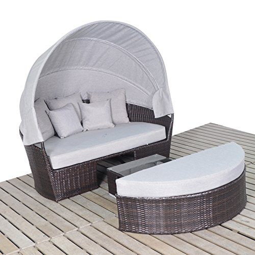 Harmony-Life-Wicker-Daybed-with-Retractable-Canopy-Outdoor-Rattan-Furniture-Patio-Coffee-Table-Sectional-Sofa-Set-Full-assembled-Aluminium-Frame-0