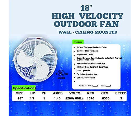 High-Velocity-Outdoor-Mist-Fan-For-Patio-Cooling-Restaurant-Misting-Industrial-Cooling-Rated-for-Indoor-and-Outdoor-Applications-3-Speed-Fan-0-0