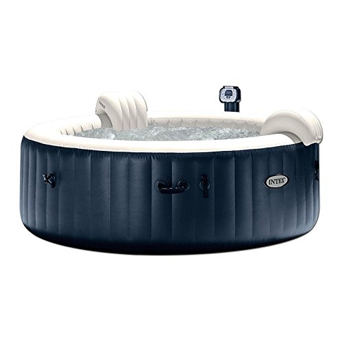 Intex-Blowup-Hot-Tub-Headrest-Cup-HolderTray-Seat-2-Filter-Cartridges-0