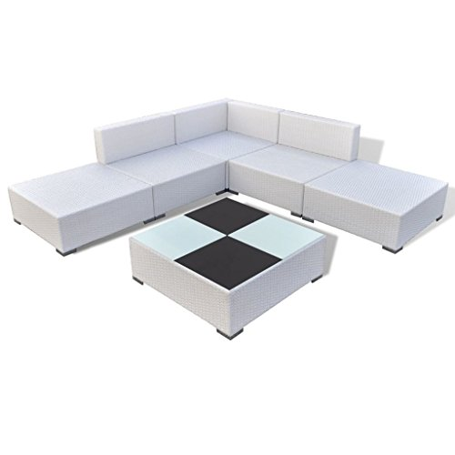 K-Top-Deal-15-Piece-Patio-Outdoor-Wicker-Rattan-Sectional-Sofa-Set-with-Cushion-Brown-0-0