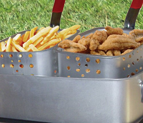 King-Kooker-1624-Fry-Pan-Baskets-Outdoor-Cooker-Package-15-Quart-0-0