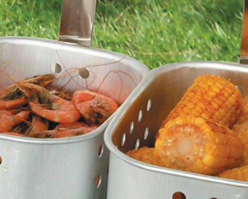 King-Kooker-1624-Fry-Pan-Baskets-Outdoor-Cooker-Package-15-Quart-0-1