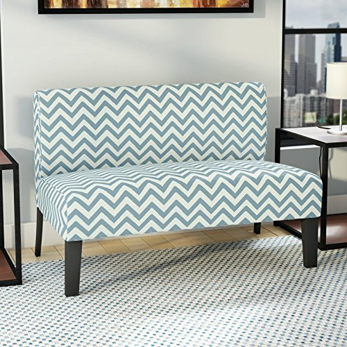 Lively-Loveseat-Boosts-Pleasant-Pop-of-Pattern-with-Chic-Chevron-Motif-Perfecto-for-Any-Simple-Space-that-Could-Use-an-Eye-Catching-Update-Woven-Fabric-Upholstery-Expert-Guide-0-1