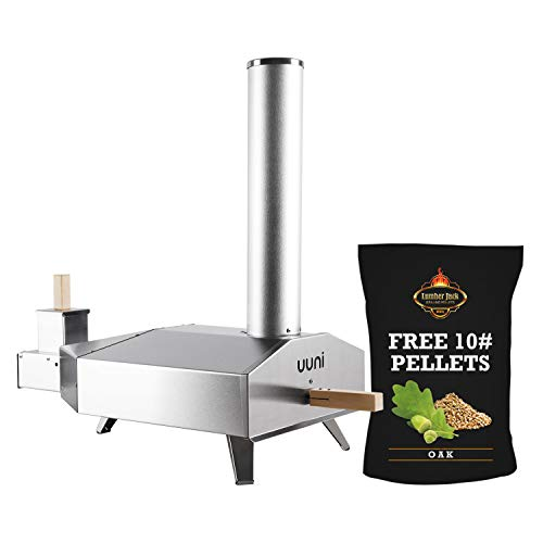 Lumber-Jack-Uuni-3-BBQ-Pellet-Fired-Pizza-Oven-Stone-Pellet-with-10-free-BBQ-Pellets-0
