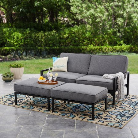 Mainstays-Moss-Falls-3pc-Outdoor-Sofa-Daybed-Set-GreyBlack-0