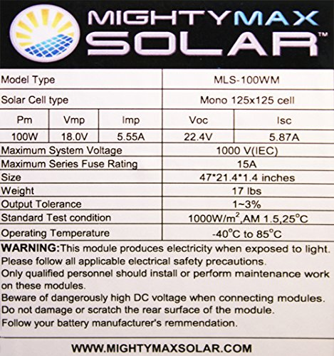 Mighty-Max-Battery-200-Watt-Solar-Panel-Mono-2pc-100W-Off-Grid-12V-RV-Boat-Home-2-Pack-brand-product-0
