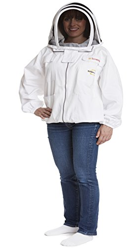 NATURAL-APIARY-Max-Protect-Beekeeping-Jacket-100-Fine-Cotton-Veil-Maximum-Protection-Professional-Beginner-Beekeepers-0-0