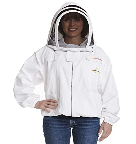 NATURAL-APIARY-Max-Protect-Beekeeping-Jacket-100-Fine-Cotton-Veil-Maximum-Protection-Professional-Beginner-Beekeepers-0