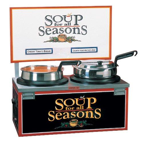 Nemco-6510-D7-14-qt-Double-Well-Soup-Merchandiser-w-Header-0
