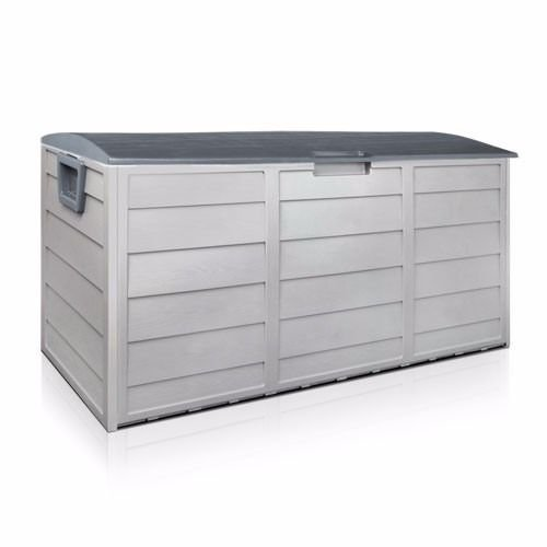 Nice1159-New-Storage-Large-All-Weather-Resin-Durable-Patio-Outdoor-Deck-Box-Easy-to-Use-Cabinet-Container-Organizer-Size-43-X-20-X-17-Light-Grey-0-0