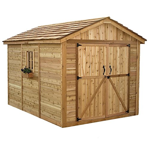 Outdoor-Living-Today-SM812-SpaceMaker-8-x-12-ft-Storage-Shed-0