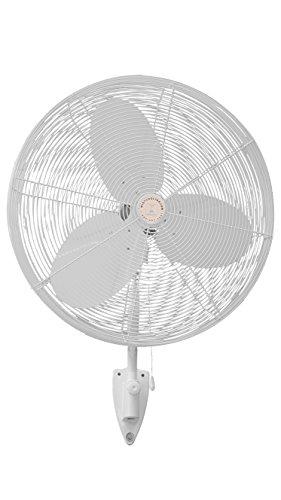 Outdoor-Misting-Fans-with-Fan-Misting-System-and-Calcium-Inhibitor-Filter-Wall-Mount-Fan-for-Residential-Industrial-and-Restaurants-Black-and-White-Colors-0