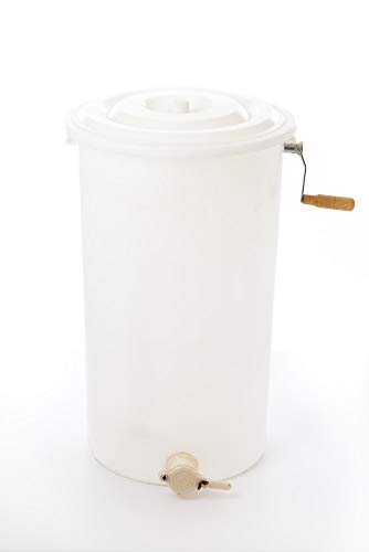 Pigeon-Mountain-Trading-Company-PM0094-Plastic-Two-Frame-Manual-Honey-Extractor-White-0