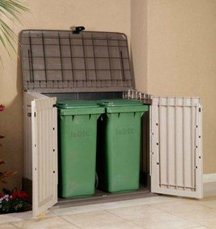 Plastic-Outdoor-Storage-Shed-30-CuFt-Color-BeigeTaupe-0-1